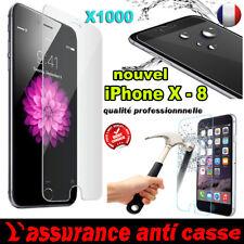 Vitre iPhone X/8/7/6/S/5/C/4 Plus protection verre trempé film protecteur écran