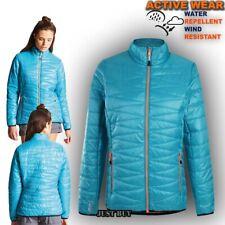Womens Lightweight Padded Jacket Hiking Gym Running Wool Insulated Intertwin