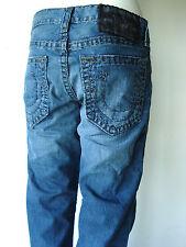 True Religion Herren Jeans Bobby Super T H1-Loaded Gun Blau Hose 31