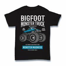 Bigfoot Tshirt monster truck diesel power