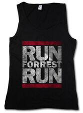RUN FORREST RUN DAMEN TANK TOP Run Fun DMC Lauf Forrest Lauf Gump Movie Quote