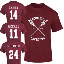 Beacon Hills Lacrosse T-Shirt Teen Wolf Fan McCall Stilinski Lahey Unisex Top