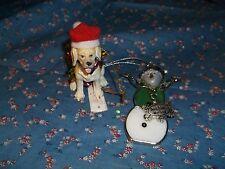 Nwt Ganz Christmas Ornaments Dog Related Beagle God Bless My Dog U Chose