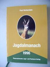 Jagdalmanach 1996 Österreichischer Jagd- und Fischerei Verlag Jagen Österreich