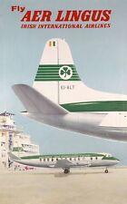 Vintage Aer Lingus aerolínea Poster A3 impresión