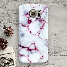 Marble Granite White Galaxy S7,S7 edge,S3,S4,S5,S6,S6 Edge,S6 Edge+, Slim Case
