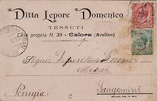 #CALORE: testatina- DITTA LEPORE DOMENICO- tessuti