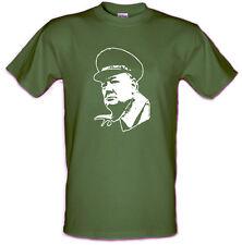 Winston Churchill Primer Ministro Guerra Mundial 2 Heavy En Algodón Tallas: S-XXL