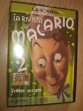 DVD N° 2  LA RIVISTA DI MACARIO FEBBRE AZZURRA RAI TRADE