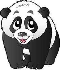 Sticker enfant Panda réf 924 (Dimensions de 10 cm à 130cm de hauteur)