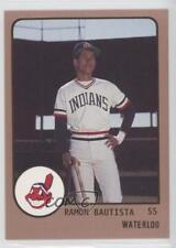 1988 ProCards Minor League #676 Ramon Bautista Waterloo Indians Baseball Card