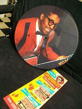BO DIDDLEY - I'm a Man Live 84 Picture Disc LP BLUES Guitar