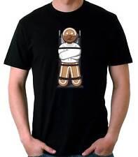Camiseta Hombre El Siencio De La Galleta  Funny Hannibal Lecter t-shirt