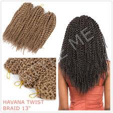 Crochet Braids HAVANA TWIST BRAID Hair Extension 1/3/5 Bundle