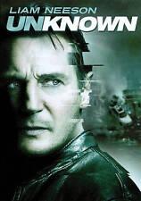 Unknown (DVD, 2011) Liam Neeson, Diane Kruger, January Jones, Aidan Quinn