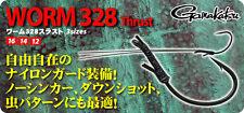 6119) Gamakatsu. WORM 328 Thrust. Hook Size variation.