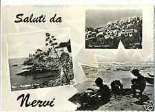 SALUTI DA NERVI - VEDUTINE (GENOVA) 195..