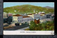[12932] SAVONA - STAZIONE LETIMBRO _ 1916