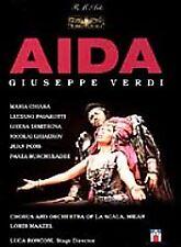 Verdi - Aida / Maazel, Chiara, Pavarotti, La Scala by Paata Burchuladze, Ghena