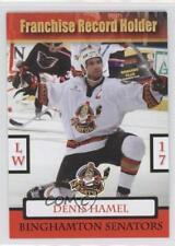 2009 DEHA.2 Denis Hamel (Franchise Record Holder) Binghamton Senators (AHL) Card