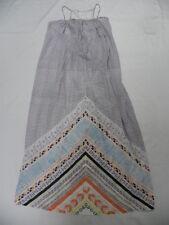 Roxy Women Lost Bohemian Dress Sleeveless Long Maxi Dress Sz Medium