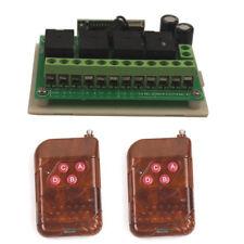 12V 4CH Channel Wireless Remote Relay Switch Smart Garage Open Control Module
