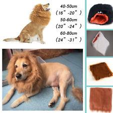 Pet Costume Lion Mane Wig For Dog Halloween Sanda Clothes Festival Dress up