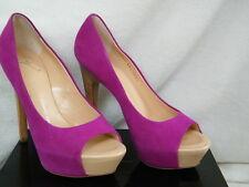 Giuseppe Zanotti Shoes Hidden Platform Heels pink suede  6.5 7.5 8 9 10