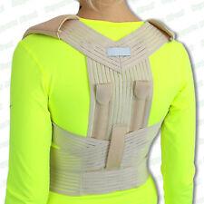 Bad Posture Corrector Brace Back Lumbar Shoulder Problems Good Proper Support