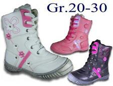 Mädchen Winterschuhe Stiefel NEU gefütterte Reißverschluss Winterstiefel @2221
