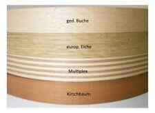 Echtholzfurnier Kantenumleimer 5m 23 mm EUR 0,998/m SK beschichtet geschliffen