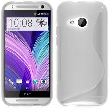 Coque Souple Silicone Gel Motif S-Line Pour HTC One mini 2/ M8 Mini