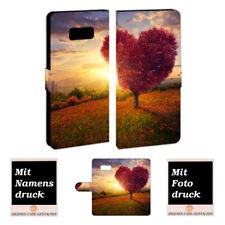 Samsung Galaxy S8 Plus Handyhüllen mit Bild und Text online gestalten Herzbaum