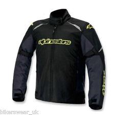 Alpinestars Gunner WP negro/gris frío/Amarillo Impermeable Chaqueta Textil!!! nuevo!!!