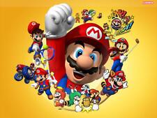 Nintendo Super Mario Bros Retro Video Game Iron on Tee T-Shirt Transfer