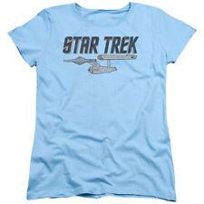 Star Trek Entreprise Logo Womens Short Sleeve Shirt