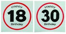 Happy Birthday Party Paper Napkin Servietts Tissue Table Ware Decoration Bar BBQ