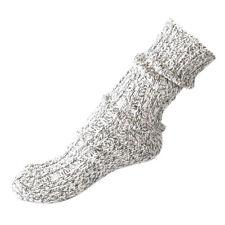 Norweger Socken grau meliert Gr. 39-46 Wintersocken Wollsocken Wolle Strümpfe