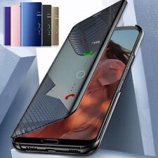 Clara Flip Funda Espejo Carcasa Case Para Xiaomi Redmi Note 7 6 5 Pro 4 3 S2 Y2