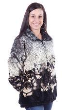 New Mazmania Kittens Plush Fleece Jacket Cat Print (XS - 5X)