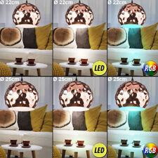 LED RVB Luminaire suspendu salle à manger Coup de marteau télécommande