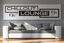 Wandtattoo Aufkleber Chillout Lounge Wohnzimmer Relax Retro Cubes Quadrate tx051
