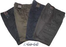 Pantalone uomo cargo tasconi M L XL XXL 3XL cotone caldo nero verde blu grigio