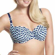 Panache Cleo Swimwear Lucille Balconnet Bikini Top Nautical Print CW0064