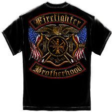 New FIREFIGHTER FIREMAN  BROTHERHOOD T SHIRT  Licensed SHIRT