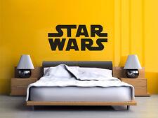 """MOVIE titolo """"Star Wars"""" Muro ARTE Adesivo, Muro Citazione, Decalcomania, trasferimento moderna,"""