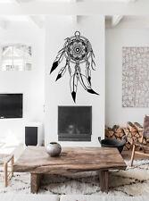 Dreamcatcher mandala dessinés à la main mur decal autocollant