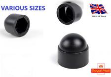 M5,M6,M8,M10,M12,M14,M16,M18,M20,M Bolt Nut Domed Cover Caps Plastic  / Black