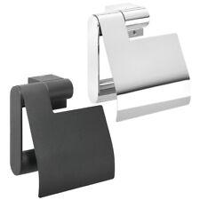 Porte-papier toilette Rouleau pour Salle de Bain Tiger Nomad Chrome/Noir