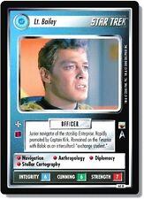 Star Trek CCG TwT Trouble with Tribbles Lt. Bailey 60R